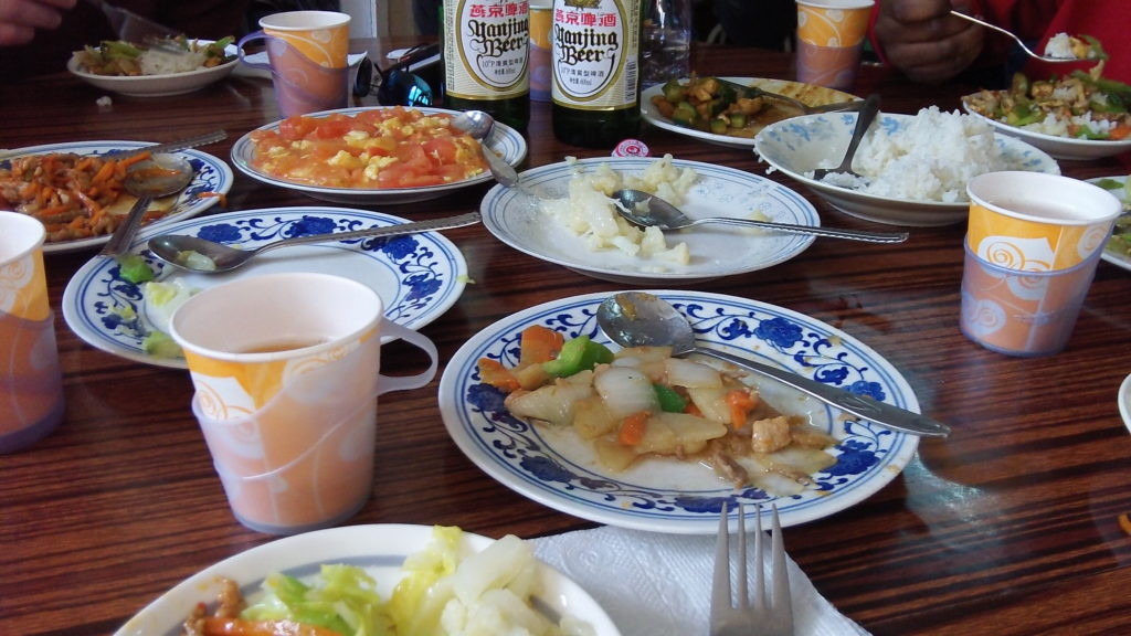 Lunch in Beijing