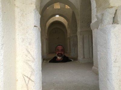 Michael Fryar in Palestine