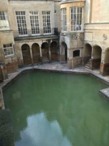Roman Bath at Bath, other side