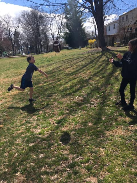 football catch