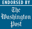 Endorsed by The Washington Post