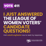 League of Women Voters vote411